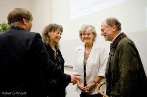 Laurie Marker, Petter Johannesen e il prof.Notarbatolo di Sciara
