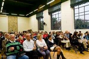 Il pubblico in Aula Magna