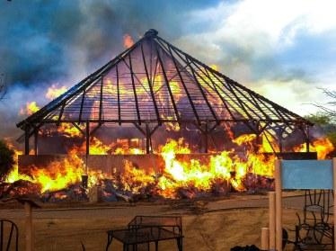 L'incendio del Padiglione