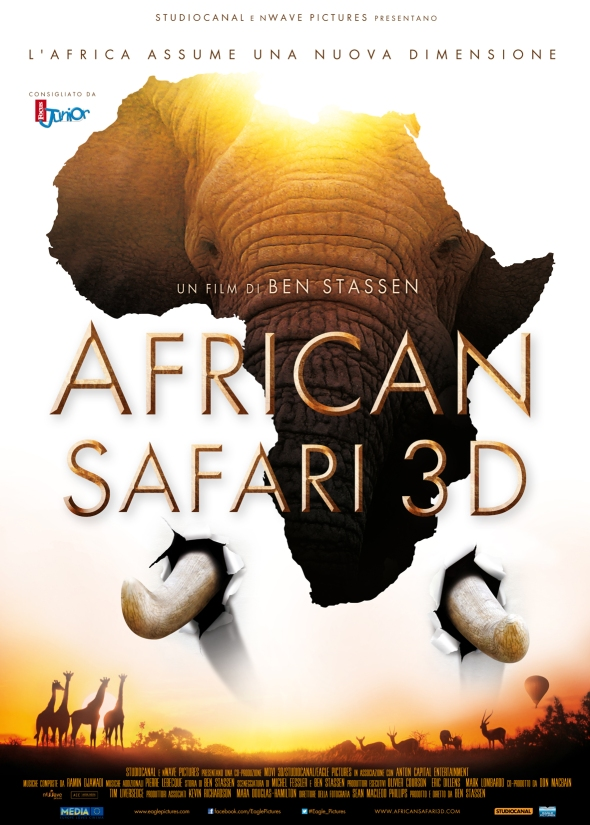 African Safari 3D - un film-documentario di Ben Stassen