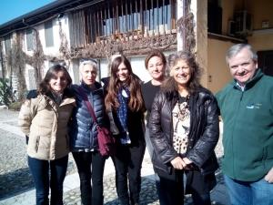 Con il team del Parco e il direttore dr. Avesani Zaborra